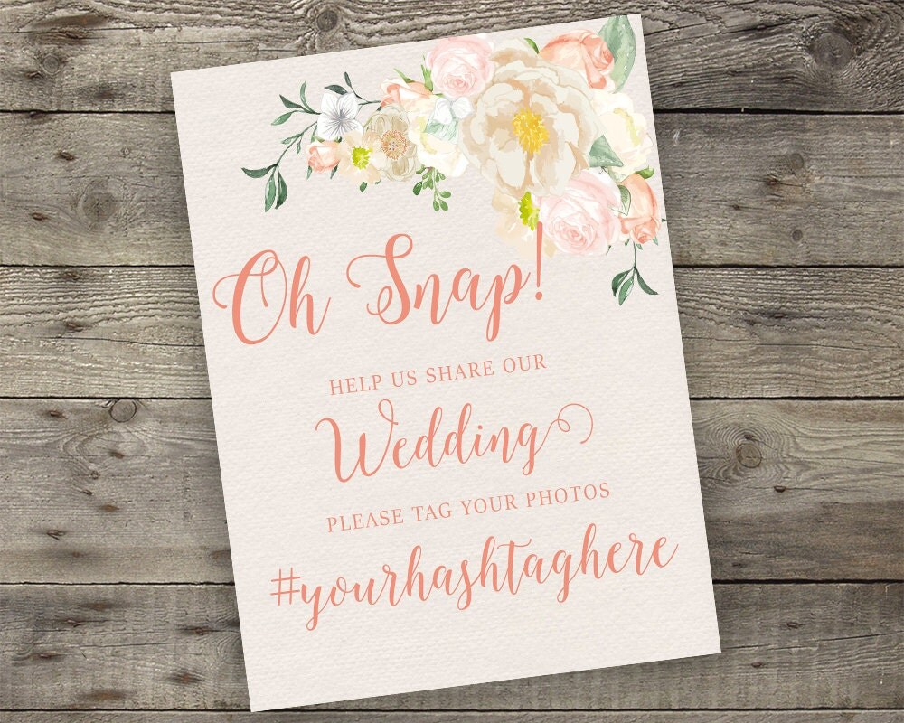 Floral Wedding Favors Sign Printable Boho Chic Attendance Gifts