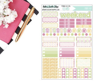 Aloha One Page Mini Weekly Kit