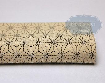 Japanese fabric Asanoha.