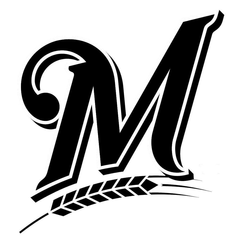 Milwaukee Brewers Logo MLB Sticker Vinyl Decal Wall Art - Custom vinyl decals milwaukee
