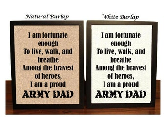 Army Dad Gift, Proud Army Dad, Army Gift for Dad, Army Soldier Dad, Gift for Army Dad, Military Parent, Army Dad Christmas Gift, Proud Army
