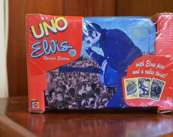 Elvis Presley UNO Playing Cards Special Edition