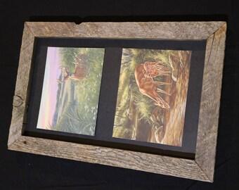 12x20 Barnwood Frame