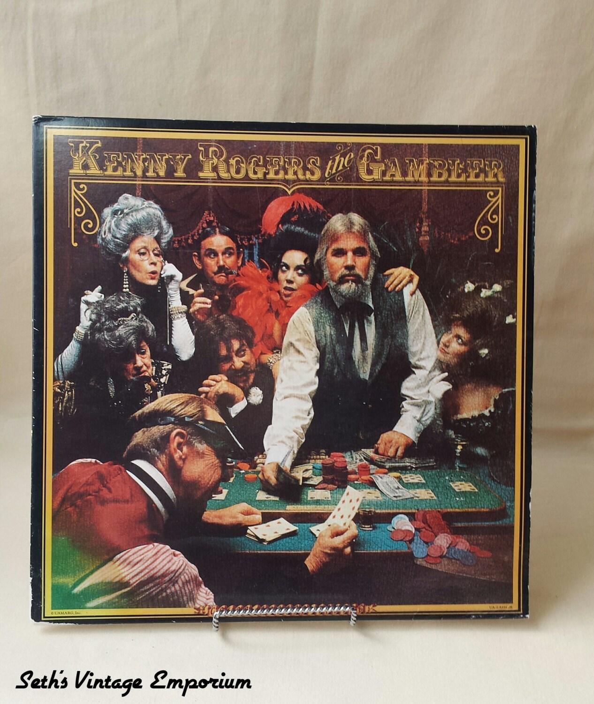 70's Kenny Rogers The Gambler Album 1978 Vinyl
