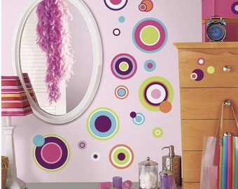 Crazy Dots Peel and Stick Wall Decal bedroom decor