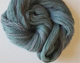 hand spun lace yarn