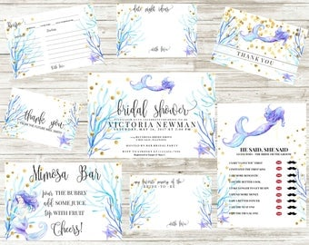 Bridal Shower Invitation | Sirena Collection