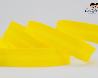 bias tape yellow, bias binding