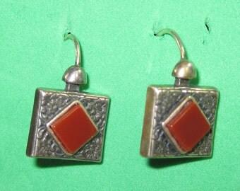 H-29 Vintage Earrings sterling silver