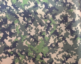 "20""x20"" diaper cut, PUL, PUL fabric, digital camo PUL, digital camo"