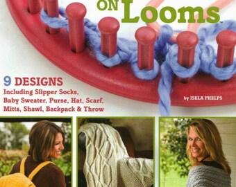 Loom knitting Cables on looms Scarf of loom Purse of loom Knitting loom Pdf file