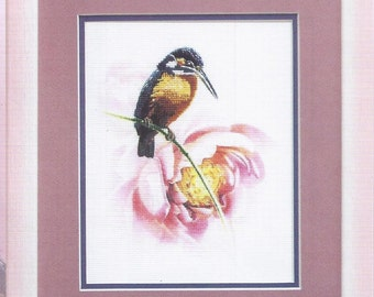 Cross Stitch Kit Kingfisher