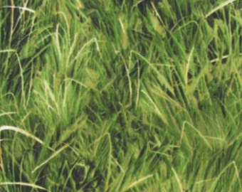 Grass fabric, blades of grass fabric, lawn, landscape, nature fabric