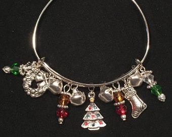 Christmas Charm Bracelet (#7820)