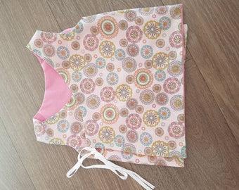 Baby girls reversible vest top