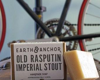 Old Rasbutin Imperial Stout Handmade Beer Soap