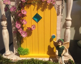 Miniature Fairy Door, Spring Collection Fairy Door, Gnome Door, Miniature Door, Garden Door