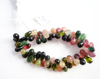 Tourmaline Faceted Drops (TRK29)