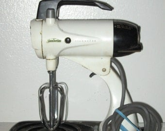 1960's Sunbeam Mixmaster Replacement Mixer Only No Mixing Bowls Works Like A Charm! #BV