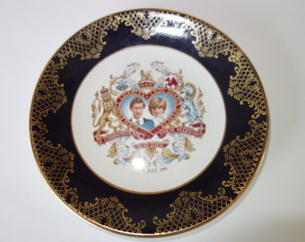 Charles and Diana wedding commemorative plate
