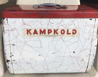 Kampkold Vintage Ice Chest