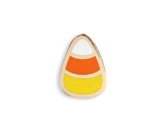 Candy Corn Enamel Pin