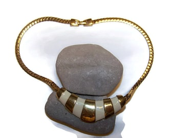 Vintage Napier Choker Necklace, 1980's, Napier Jewelry, Chokers, Statement Jewelry, Gift for her, Napier Necklaces, Designer Jewelry