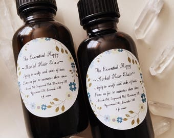 Herbal Hair Elixir ~ Hair Growth ~ Dry Scalp ~