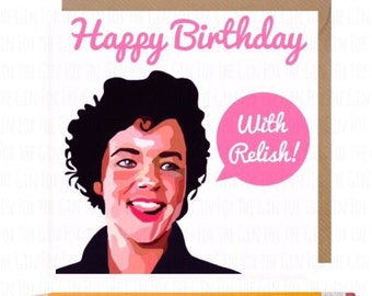 Grease Rizzo Card • Betty Rizzo Birthday Card • Grease Birthday card • Musical Grease Birthday Card • Stockard Channing Card • Musicals Card