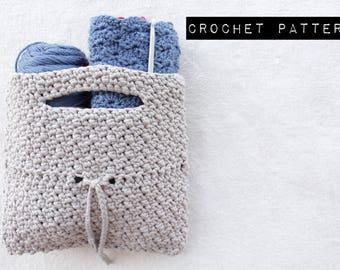 CROCHET PATTERN//The Monica Handbag Crochet Pattern/bag/clutch