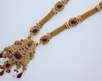 Ruby and Gold Rani Haar