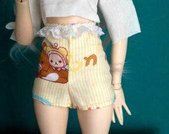 Minifee pants short waist high