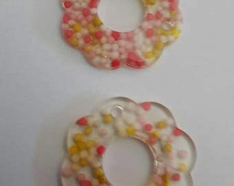 Large buttons cake sprinkles sewing unusual 2 handmade