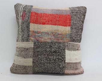 patchwork kilim pillow 20x20 turkish kilim pillow anatolian kilim pillow sofa pillow anatolian turkish decorative kilim pillow SP5050-1150