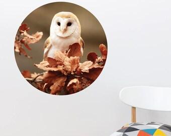 Owl Dot Dot Wall Decal