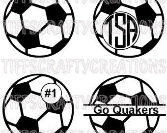 Soccer files, soccer svg files, soccer monogram svg, soccer monogram, soccer cut file, soccer svg,  soccer svg designs, soccer svg cricut