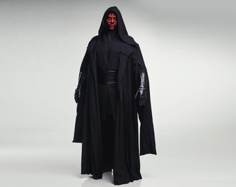 Darth Maul Sith Cosplay Costume from Star Wars Prequel Trilogy