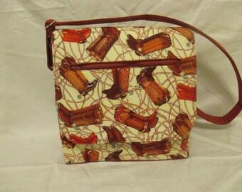 Cowboy/Cowgirl Boot Handbag