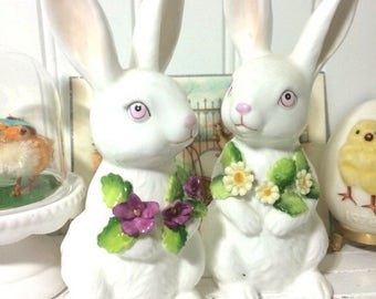 2 Maruri Masterpiece Bone China Bunnys
