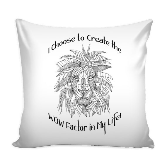 Pillow Cover - The Wow Factor