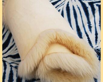 GOLDEN FLEECE - Original Sheep Skin Rug, Made in Shropshire, UK