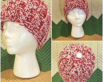Knitted Bun Hat