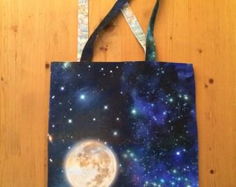 Moon / Nebula / World bag