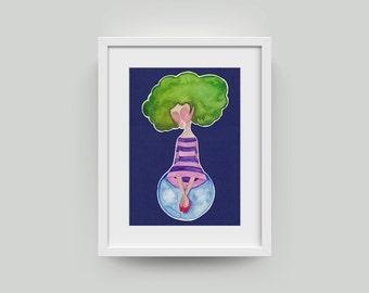 Tree girl [tree girl]