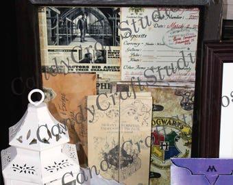 18 item***** Inspired By Hogwarts- Acceptance letter & more!