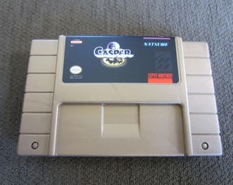 Casper - Super Nintendo - Gold Cartridge