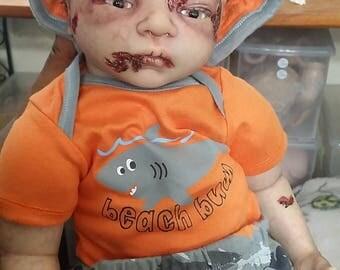 Reborn Zombie Doll- Zion by Cheryl Webber