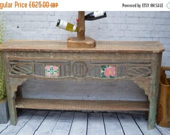 20% off this item Reclaimed Wood Console Table