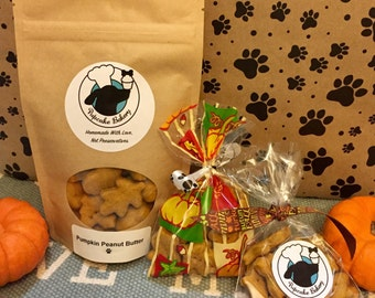 Homemade Dog Treats: Thanksgiving Fall Holiday Pumpkin All Natural Dog Treats