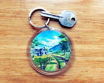 Koi fish key chains koi keychain key chain key ring for Pool koi goggles